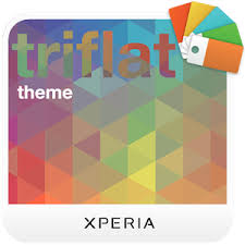 thema apk xperia triflat theme android apps on play