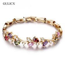 bracelet ladies designs images Gulicx 5 colors latest design new trendy gold color bracelet for jpg