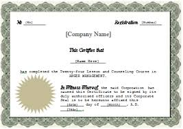 professional development certificate template training certificate