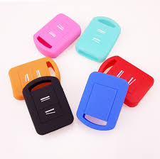 aliexpress com buy 2 button silicone key cover fit for vauxhall