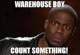Warehouse Meme - warehouse boy count something meme kevin hart the hell 70857
