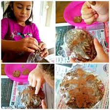 how to make fingerprint gingerbread man ornaments crafty mama in me