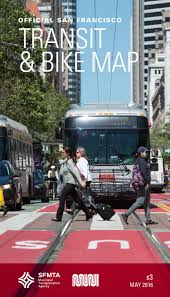 San Francisco Transit Map by Muni System Map Sfmta