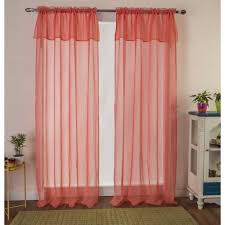 uncategorized rust curtains ebay coral colored curtains coral