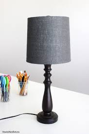 5 minute lamp shade makeover how to nest for less