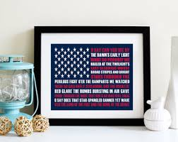 American Flag Home Decor Fourth Of July Decor Etsy