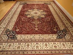 amazon com luxury red silk rugs traditional area rug 2x4 small