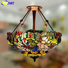 stained glass ceiling light fixtures stained glass ceiling l shades stained glass pendant lighting