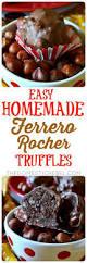 easy homemade ferrero rocher truffles the domestic rebel