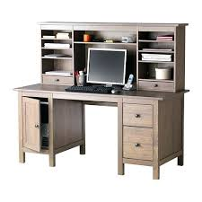 ikea hemnes computer desk corner hack hutch you can collect cables