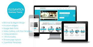 elegantica responsive business wordpress theme by gljivec