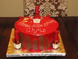 21st birthday cake ideas alcohol