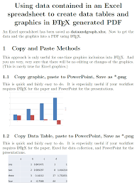 Windows Spreadsheet Graphs Windows Spreadsheet Latex Export Tex Latex Stack