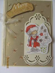 a with others how homemade christmas cards to make a card with