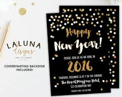 Happy New Year Invitation Great Gatsby Invitation New Year Invitation New Year U0027s
