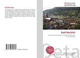 Bad Bocklet Bad Bocklet 978 613 3 31931 8 6133319313 9786133319318