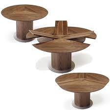 space saver dining table with leaves round expandable dining