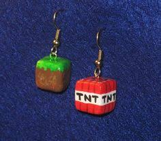 minecraft earrings minecraft creeper earrings by zabzu on etsy 2 50 earrings