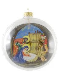 ukrainian painted glass ornaments