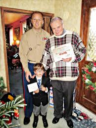 six year old donates birthday gifts to toys for tots second year