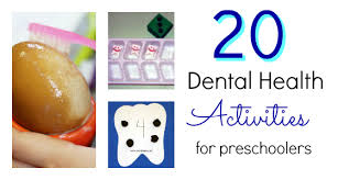 20 activities for a dental health theme pre k pages