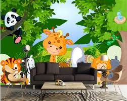 Jungle Wallpaper Kids Room by Compare Prices On Cute Animal Backgrounds Online Shopping Buy Low