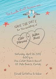 creative ideas for beach wedding invitations registaz com