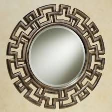 Circle Wall Mirrors Decorations Classic Round Wall Mirror Ideas With Vintage Ornate