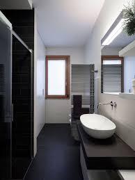 narrow bathroom design narrow bathroom houzz