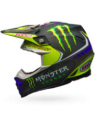 motocross helmet visor bell hi viz monster energy 2017 moto 9 flex pro circuit replica mx