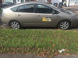 toyota prius 2008 with taxi plate wolverhampton in birmingham