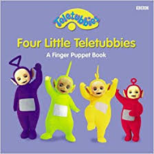 buy teletubbies finger puppets book