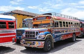 travel buses images How to get around guatemala transport chicken buses jpg