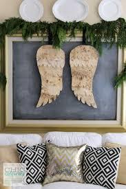 diy birch bark angel wings chic california