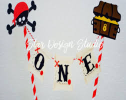 Pirate Cake Decorations Pirate Cake Topper Etsy