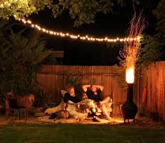 Backyard String Lighting by Super Wonderful Outdoor Patio String Lights With Brilliant Patio