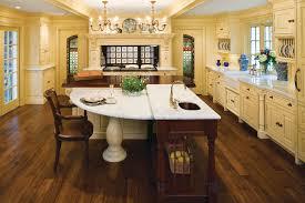 antique sensibility kitchen design incorporates owner u0027s antiques
