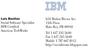 Ibm Business Card Template socialize me need your opinion my new business card