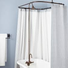 Shower Curtain Ring For Clawfoot Tub Gooseneck Clawfoot Tub Shower Conversion Kit Bathroom