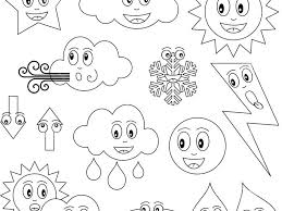 weather coloring pages for preschool coloring page for kids
