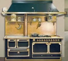 gaz electrique cuisine cuisinière fourneau combiné bois gaz électrique cuisine