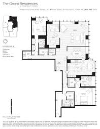 grand floor plans millennium tower skybox realty