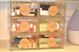 Storage Boxes Bathroom Furniture Makeup Containers For Drawers Dsc Makeup Containers