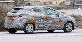 nissan micra new 2017 2017 nissan micra spied testing paris debut likely for new look
