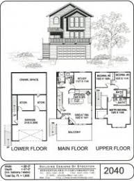 3 storey house plans house plans cottage house plans