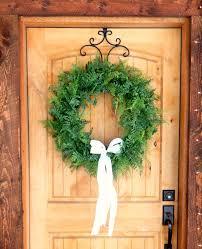 Wedding Wreaths Winter Wreath Fern Wreath Wedding Wreath Fern Door Wreath Holiday