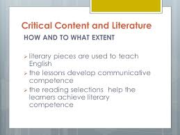critical content and literature victor rey fumar ppt download