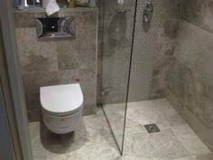 marine boot c bathroom dark grey walls light grey floor mosaic tiles zamora grey wall