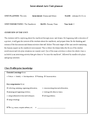 Floor Hockey Unit Plan by Interrelated Drama U0026 Music Unit Plan The Rainforest