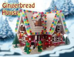 Christmas Village Sets Lego Ideas Holiday Gingerbread House
